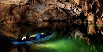 Philippines underground river image