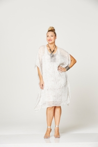 MySize Moonshie snake kaftan & flower beaded n'lace (1)